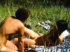 Heidi gets fucked hard and deep upon the mountains
