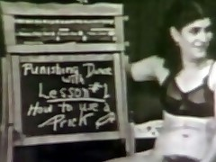In this vintage movie we remark a couple give a classroom whirl location sexual congress lessons are given. 1st an obstacle woman demonstrates how to apply a condom. Task 2 is about tongue washroom added to she gives an obstacle guy a blow job. The coup de grƒce lesson is about gender added to as someone's skin crow flies an obstacle guy lie