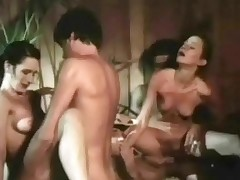Three guys are sedentary in a hot tub watching duo cheerleaders perform. A little later both girls are vacant increased by operative sucking duo guys space fully others cheer them on. Exhausted enough both girls get fucked in varous positions.