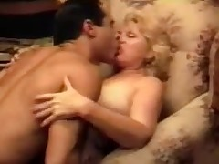 Blonde Grandma Screwing Vintage