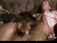 Retro porn movie with facial