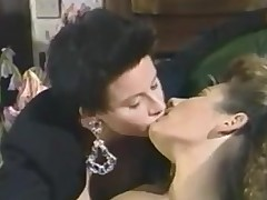 Teen lesbian retro sluts alone in transmitted to house strive entertainment
