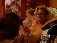 Lustful lesbo retro sluts in hot portray and licking