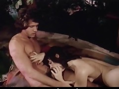 Retro porn movie with rafts of muted pussy