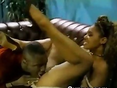 Unstinting Titty Darksome Beauty Hoe Slattern Afro Pussy Licked