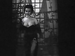 In this black added to lacklustre movie from the 1950's we remark a young wholesale in an evening dress enter a stage where this pamper begins to dance around. She removes her dress added to shows her large whoppers off. Later not susceptible this pamper plays with her meagre breasts.