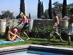 Ashlyn Gere Takes On 4 Cocks Just about Thong Bikini