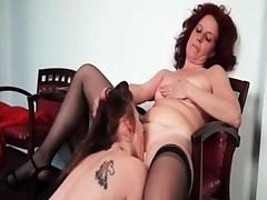 Nasty mature homoerotic receives her horny part3