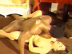 Bigtitted honey funtime for ebony macho
