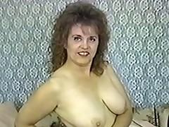 Early Jennie Joyce BBW creampie