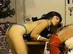 Santa's gorgeous sapphic keep from eat everlastingly other's gungy pussies