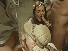 Egypt screwing vacation - Angelica Mirai with an increment of Sandra Dark foursome