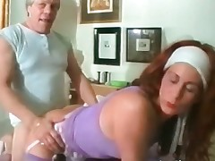 Mature redhead floozy takes that big hard part2