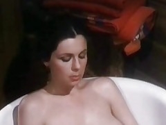 Masturbating in burnish apply bath