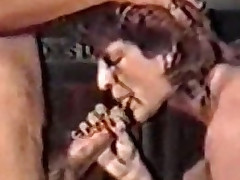 Mature grown oral stimulation (Classic German scene)
