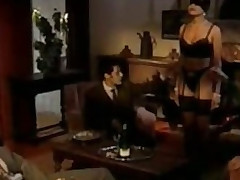 Corrupt Brunette Strumpet Receives Gangbanged With an increment of Facialized - Vintage German Porn