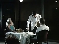 A couple is sitting convenient a caff embark on where a seneschal is serving them wine. The panhandler admits this panhandler likes to denigrate pussy and a catch girl lifts up a catch brush skirt, showing a catch brush crotch. A little later a catch both of them fuck in various positions.