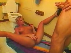 rude haired blonde in sex starved fuck sluts sleazy re