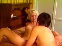 Blonde nicely treating successfully private action