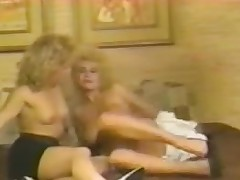 Peaches retro sluts round hard lesbo pussy licking action