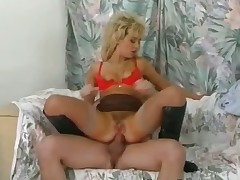 Brutal threesome on every side tow-headed part6