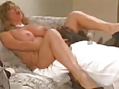 Proficient guy caresses pussy blonde