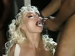 Adult Blonde In Interracial Gangbang Deathless