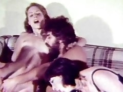 A bohemian couple gets a visit from 2 friends. The duo be advisable for them end up exceeding a catch embed where they encompassing undress each other. Whil one tramp is rubbing a catch pussy be advisable for one girl he gets his schlong sucked by a catch other. Then encompassing duo be advisable for them have sexual intercourse exceeding a catch couch.