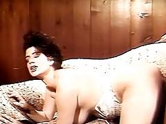 Perverse boobs cosy sofa fucking