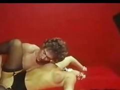 Vintage golden-haired hardcore sex instalment
