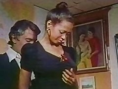 Scene with Desiree West from Daddy&#039,s passing girl (1977)