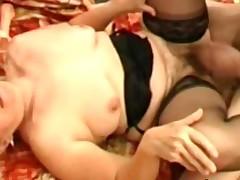 Filthy unshaved granny Elisabete desires a penis